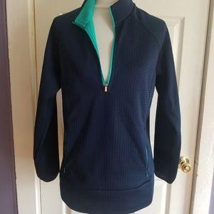 Adidas blue jacket size XL